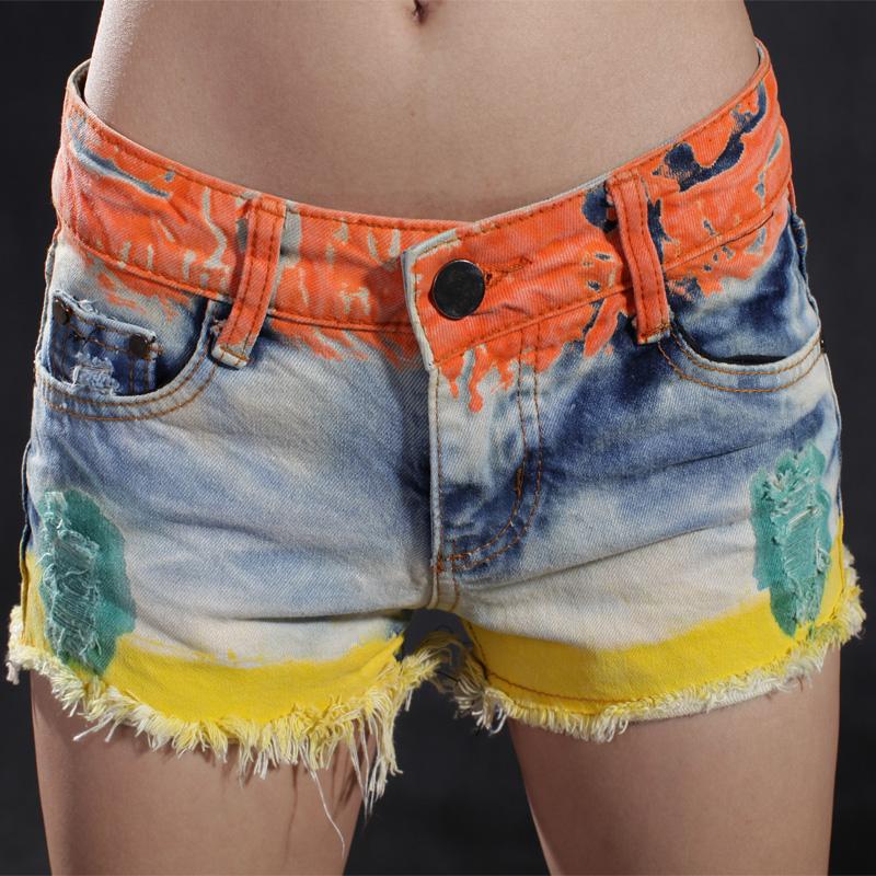 Calça jeans personalizada short 4