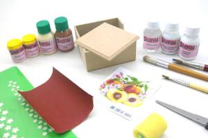Como pintar artesanato em MDF 1
