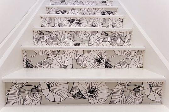 Decorar paredes com papel adesivo 9