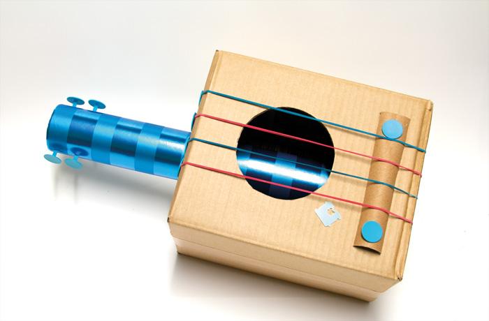 Instrumentos musicais de material reciclado 02