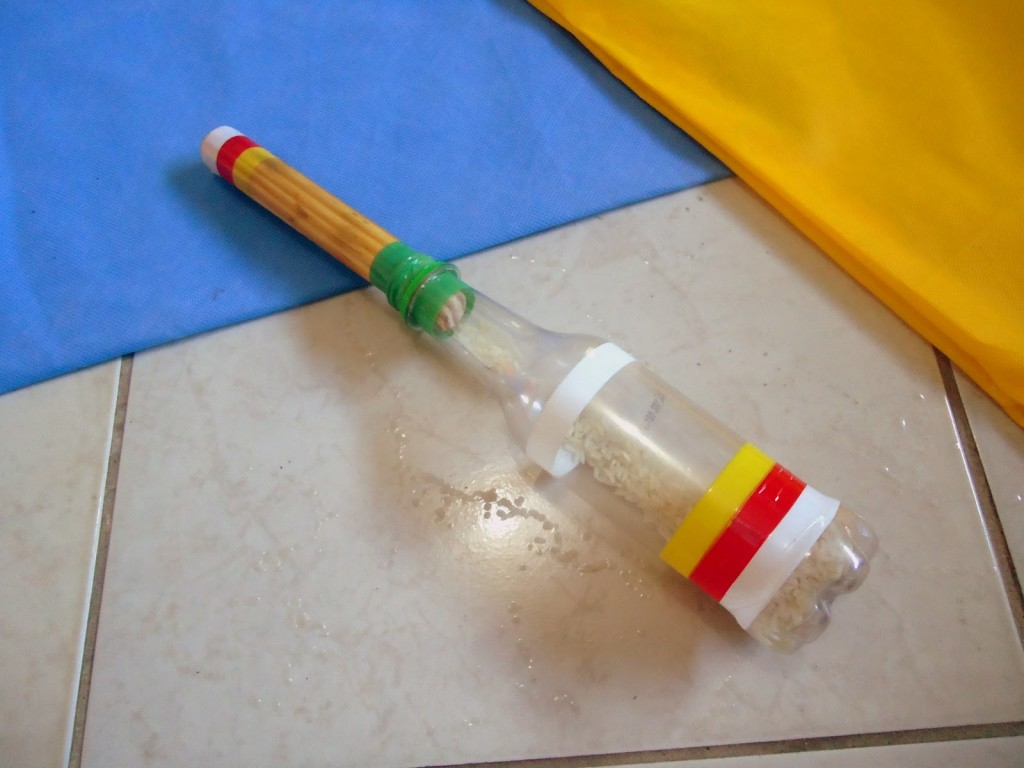 Instrumentos musicais de material reciclado 14