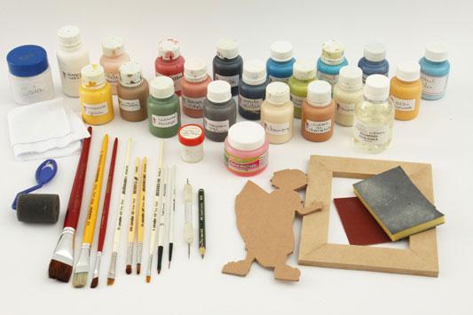 Materiais básicos para artesanato em MDF 2