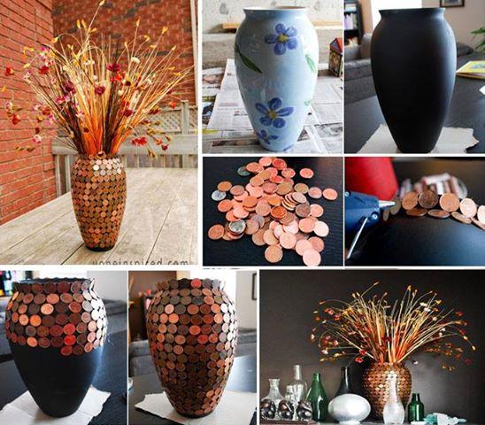 Objetos artesanais para sala 12