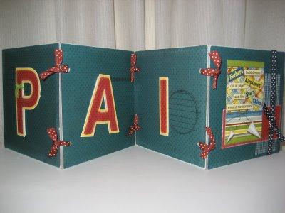 Presente criativo para o Dia dos Pais cartão