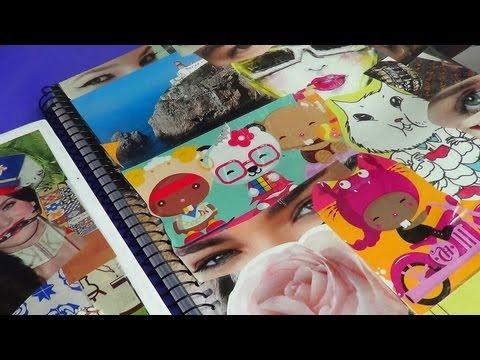 Como customizar cadernos de forma criativa 08