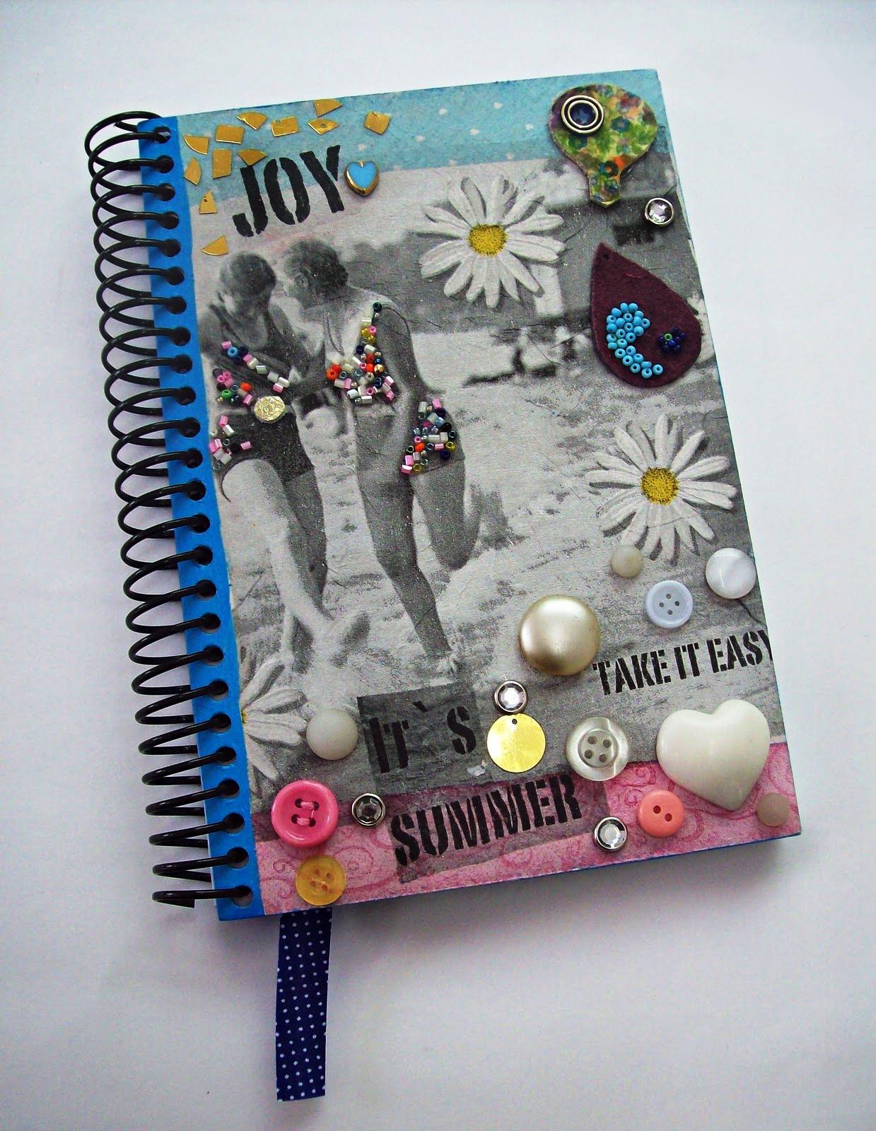 Como customizar cadernos de forma criativa 10