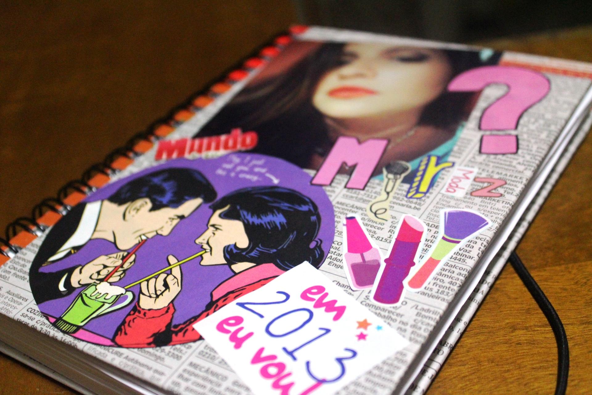 Como customizar cadernos de forma criativa 12