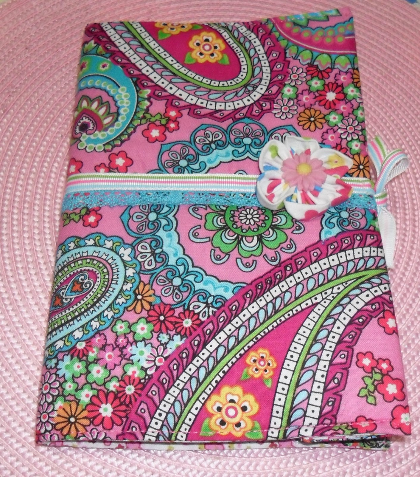 Como fazer bolsa para livro em tecido 05