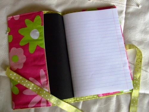 Como fazer bolsa para livro em tecido 06