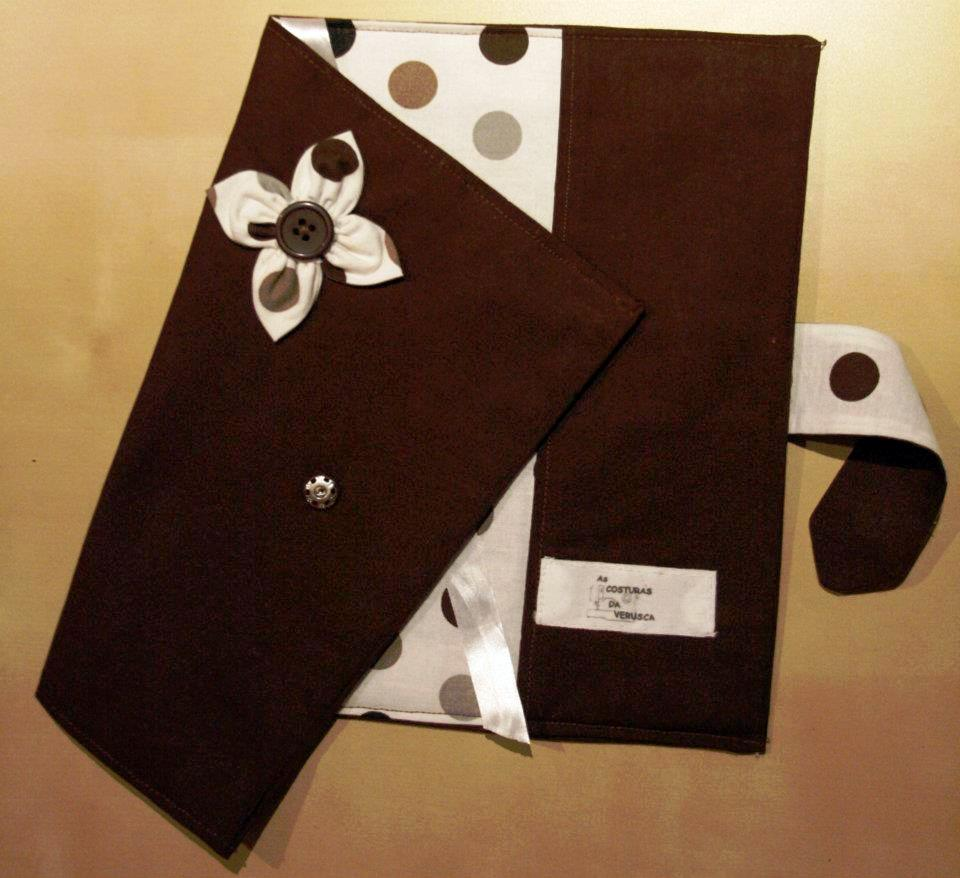 Como fazer bolsa para livro em tecido 09