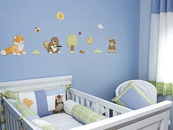 Decorando quarto de bebê com eva 10