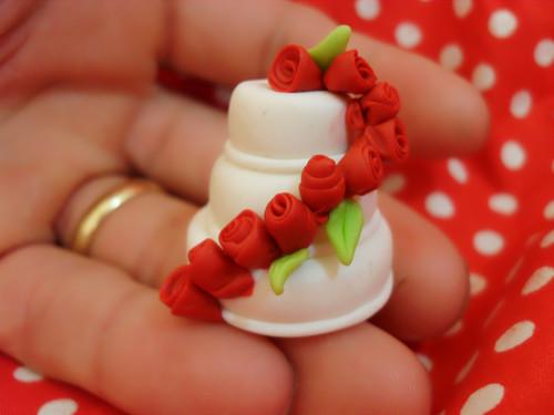 Lembranças de casamento em biscuit 06