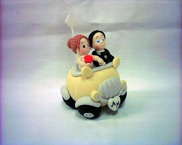Lembranças de casamento em biscuit 09
