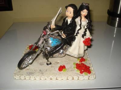 Lembranças de casamento em biscuit 14