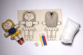 Como fazer boneca de pano 14