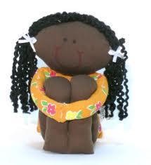 Como fazer boneca de pano 16