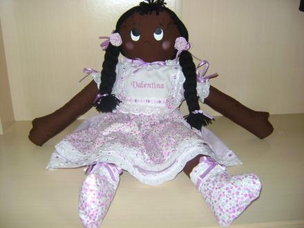 Como fazer boneca de pano 17