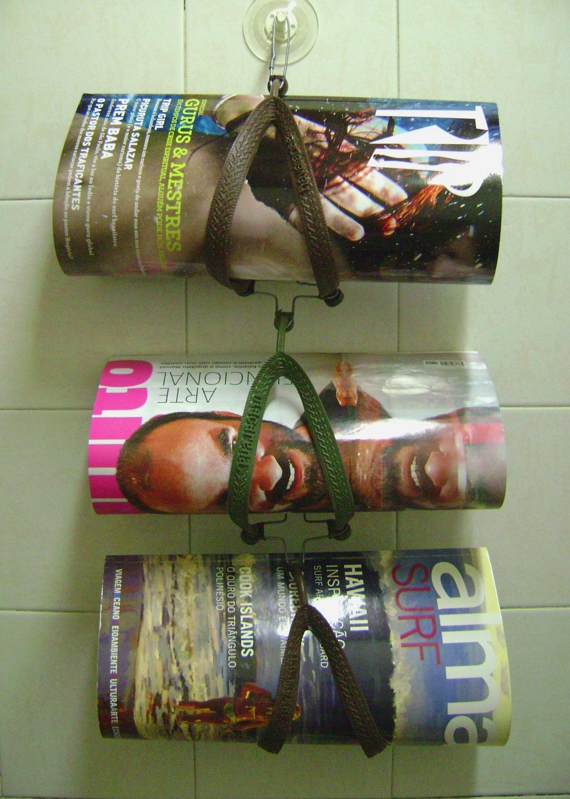 Como fazer um porta revistas 13