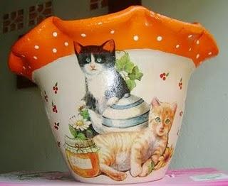 Como pintar vasos de cerâmica 09