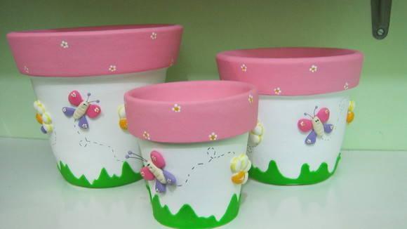 Como pintar vasos de cerâmica 11