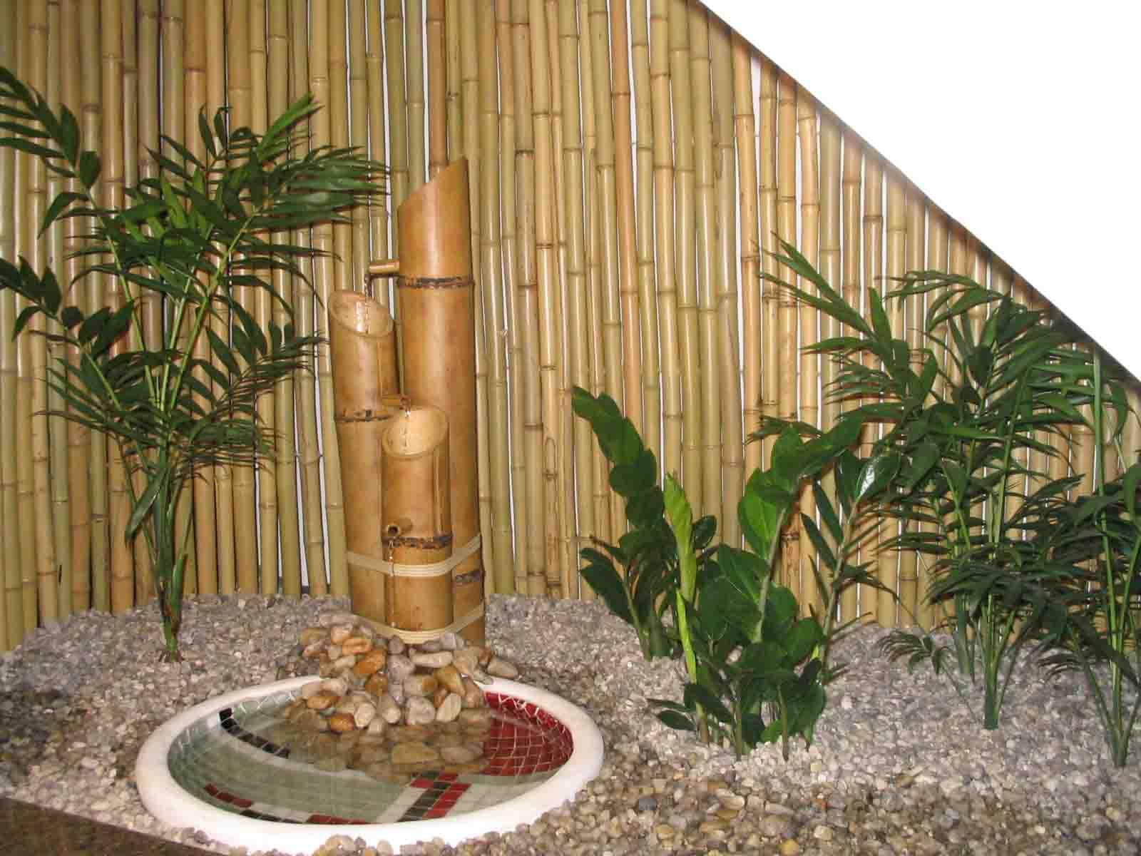 Jardins decorados com pedras 02