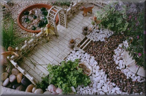 Jardins decorados com pedras 06