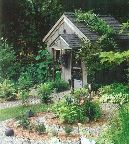 Jardins decorados com pedras 09