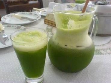 Receita de suco verde 03