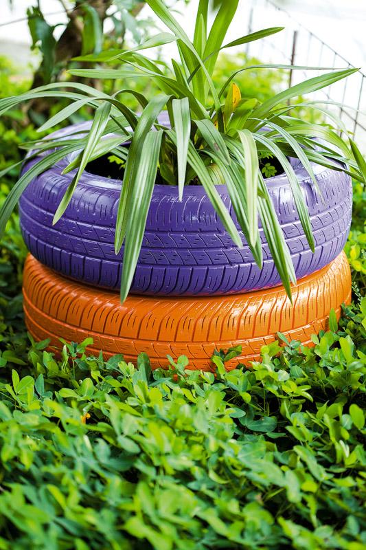 Vasos artesanais para seu jardim 01