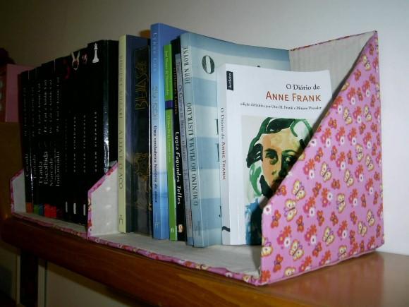 Artesanato com caixa de papelão 009