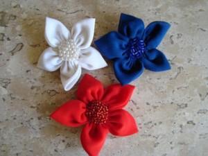 Como fazer flores de fuxico 01 (Custom)