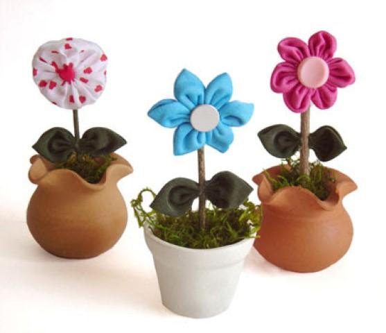 Como fazer flores de fuxico 06 (Custom)