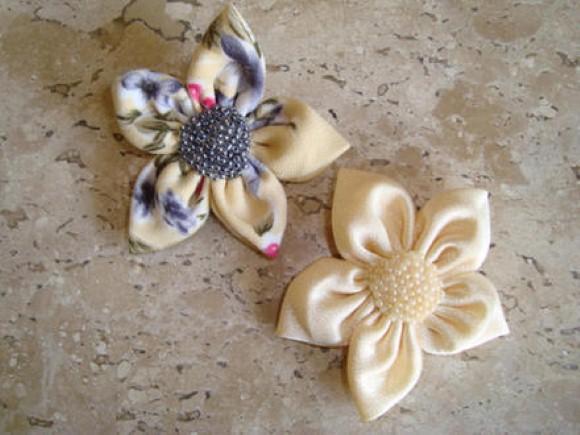 Como fazer flores de fuxico 10 (Custom)