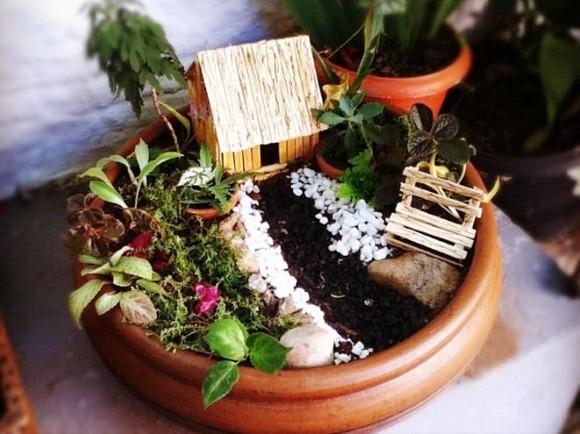 Como fazer um mini jardim decorativo 001