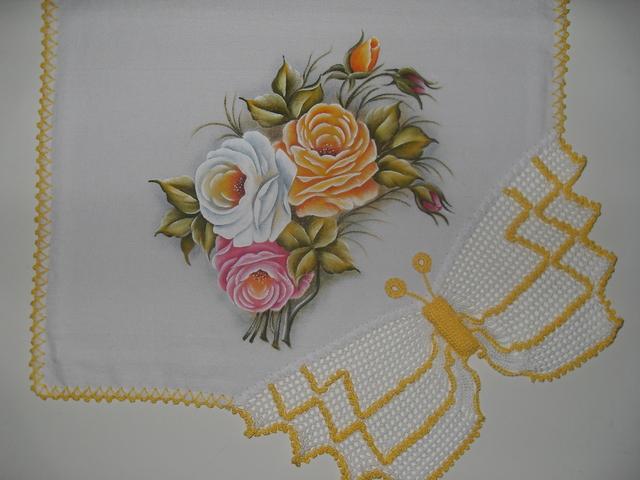 Pintura em pano de prato 05