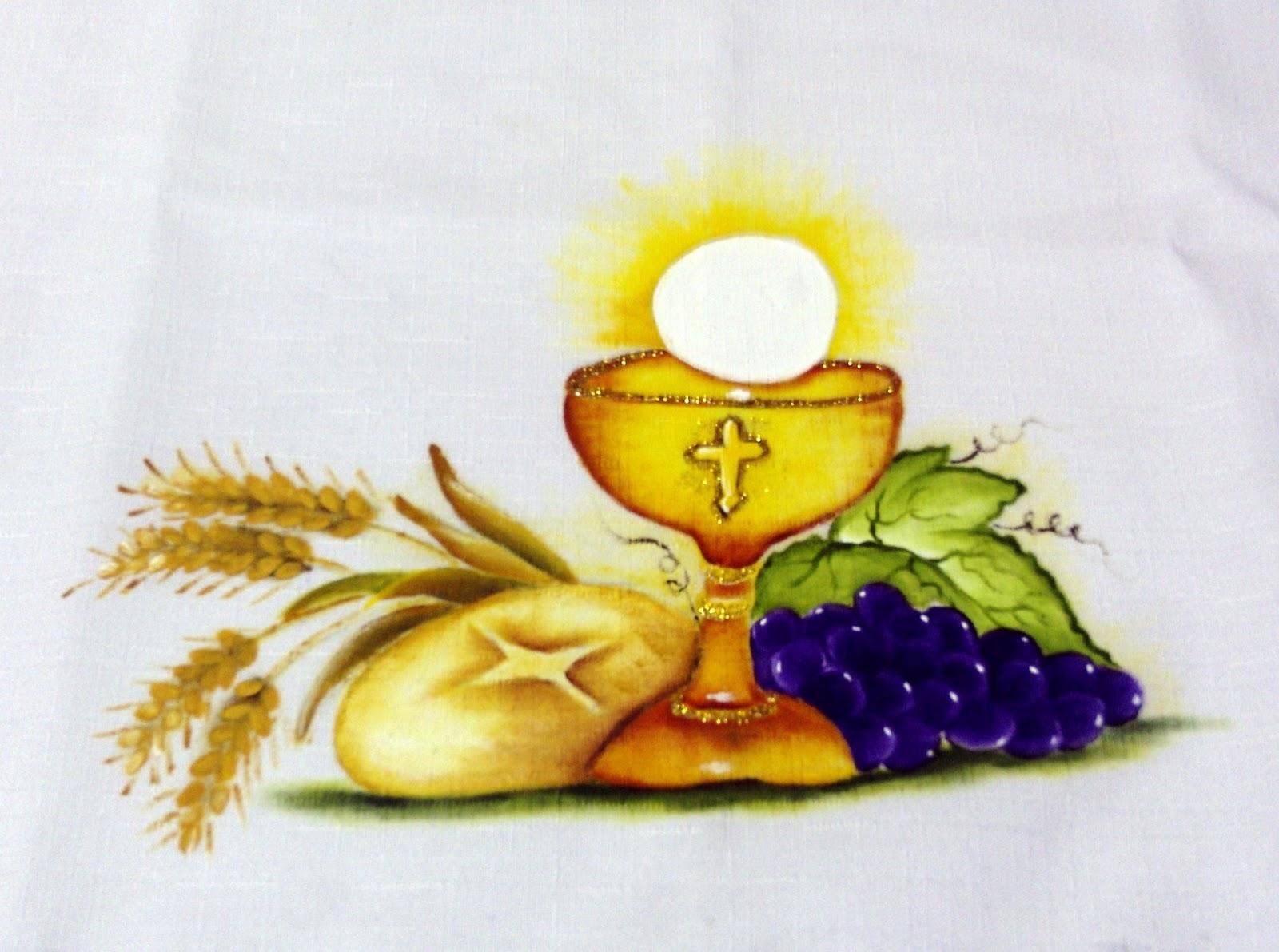Pintura em pano de prato 16