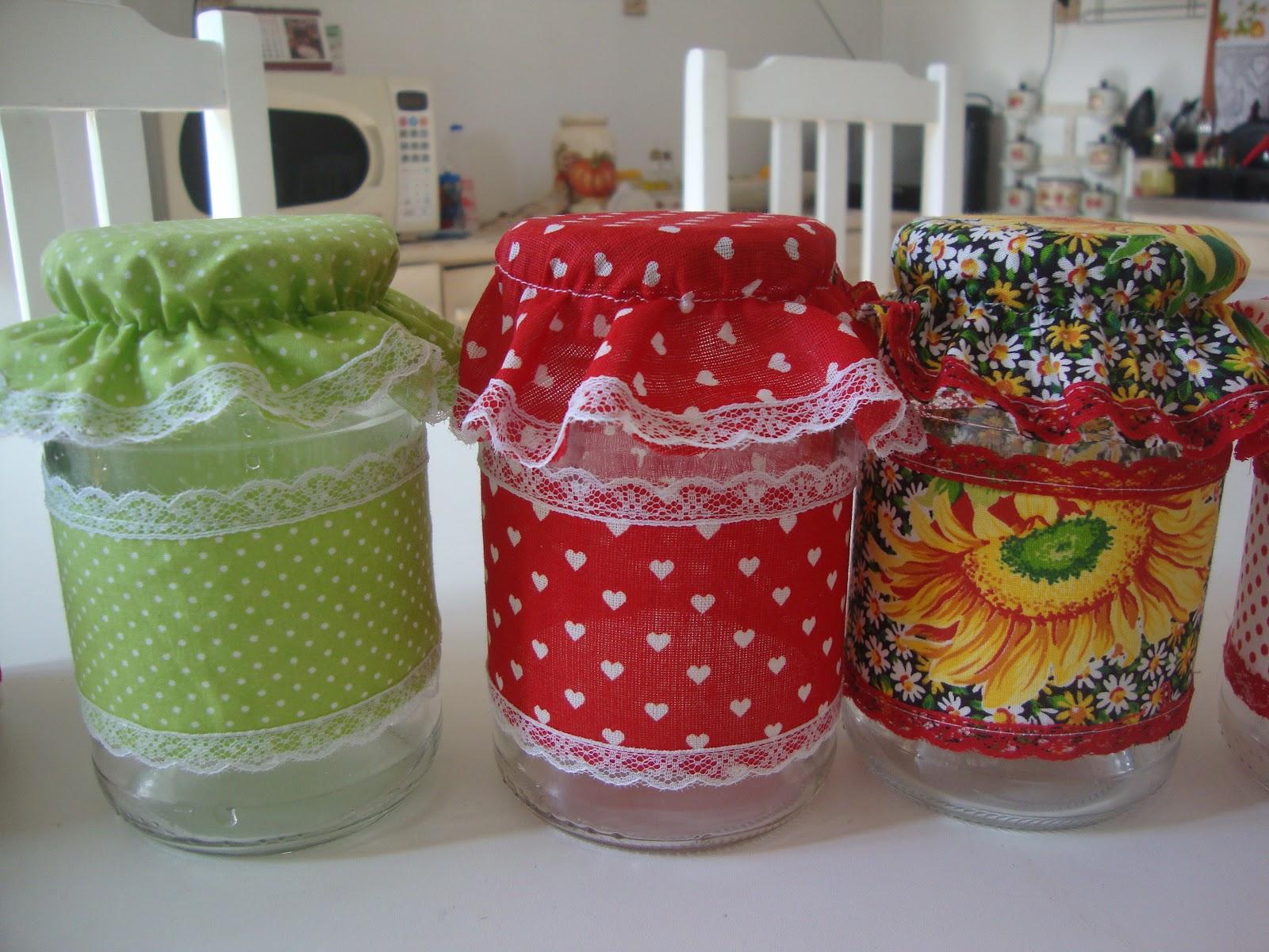 Potes de vidro decorados 11