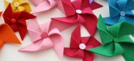 Como fazer cata-vento para as crianças e decorativo