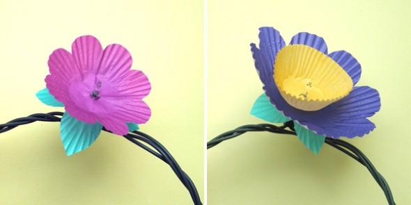 Como fazer flor de papel para decoração 02