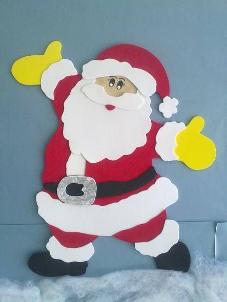Como Fazer Papai Noel Em Eva