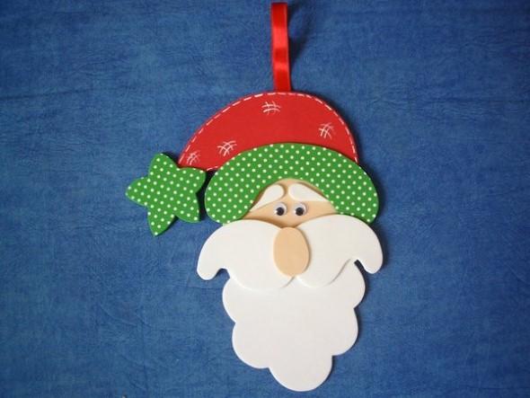 Dicas para fazer Papai Noel em EVA 004