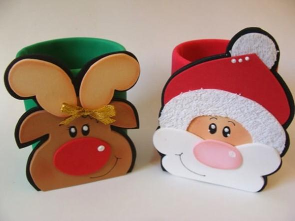 Dicas para fazer Papai Noel em EVA 008