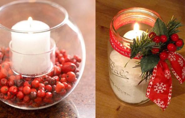 Laços de fita decorativos para o Natal 011