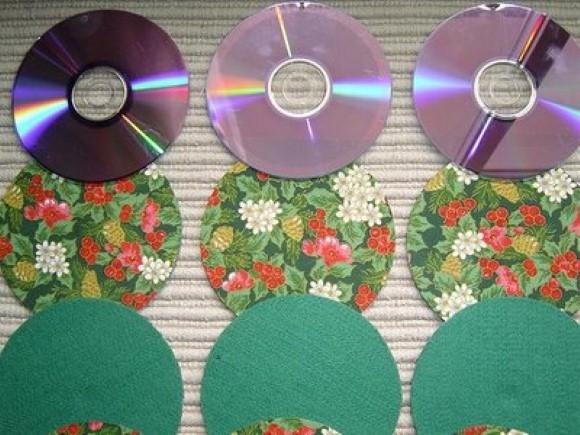 Porta copos de CD 08