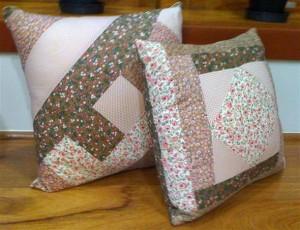 Almofada de patchwork 001