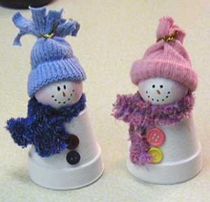 Como fazer boneco de neve 001
