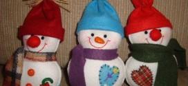 Como fazer boneco de neve – Passo a passo e modelos