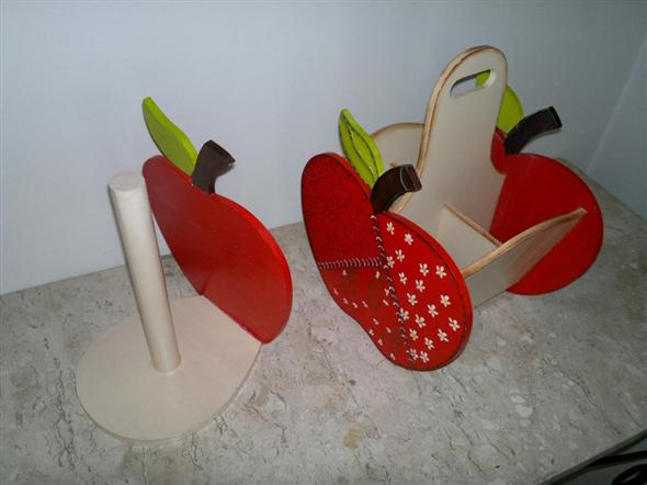 Porta talheres artesanal em MDF 009