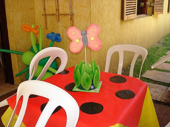 Arranjos para festa infantil 012