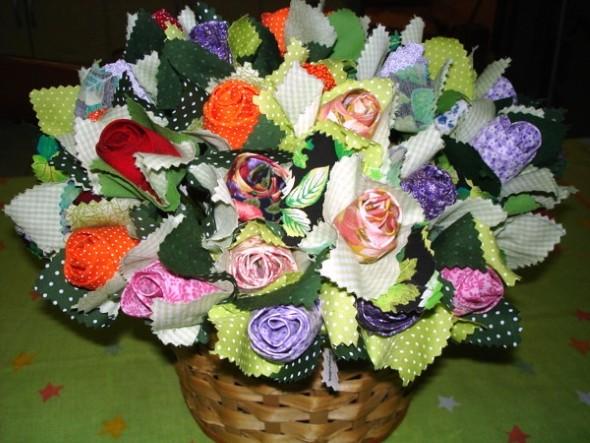 Flor de tecido - Modelos e como fazer 003